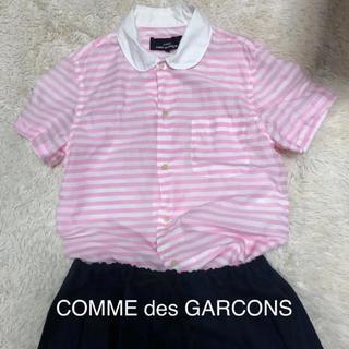 コムデギャルソン(COMME des GARCONS)のコムデギャルソン  丸襟ブラウス(シャツ/ブラウス(半袖/袖なし))