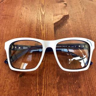 ヴィヴィアンウエストウッド(Vivienne Westwood)の【新品・未使用】ヴィヴィアン ウエストウッド メガネフレーム ホワイト 大きめ(サングラス/メガネ)