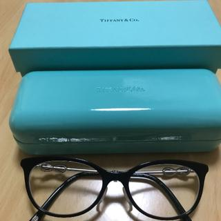 ティファニー(Tiffany & Co.)のTIFFANY&CO ティファニー メガネ フレーム TF2142 黒(サングラス/メガネ)