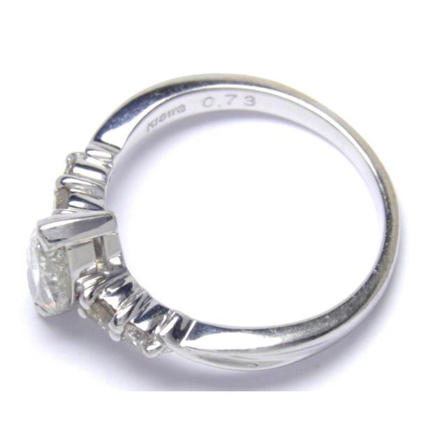K18 0.87ct ダイヤモンド リング レディースのアクセサリー(リング(指輪))の商品写真