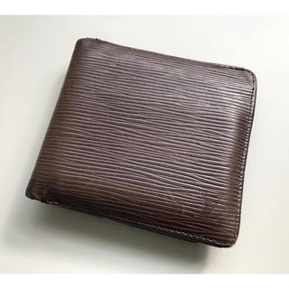 ルイヴィトン(LOUIS VUITTON)のルイヴィトン エピ 財布 ブラウン(折り財布)