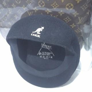 カンゴール(KANGOL)のカンゴール ハンチング 黒 (ハンチング/ベレー帽)