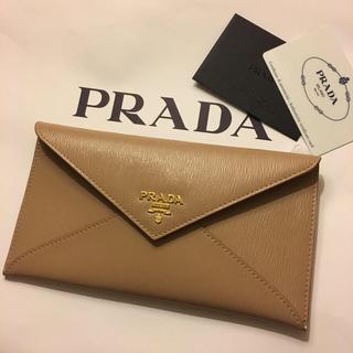 プラダ(PRADA)の新品未使用 プラダ PRADA 長財布 パスポートケース スマホケース クラッチ(財布)