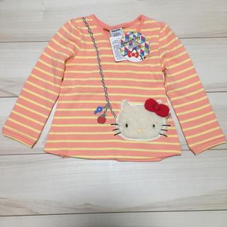 キティ サイズ100 裏起毛 トレーナー(Tシャツ/カットソー)