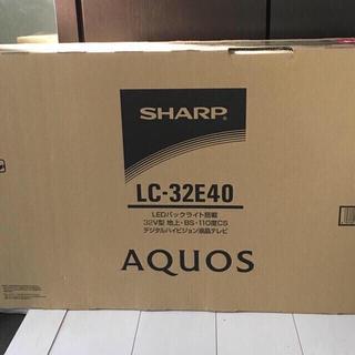 シャープ 32V型 液晶 テレビ AQUOS LC-32E40 ハイビジョン