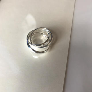 silver925 三連 ring(リング(指輪))