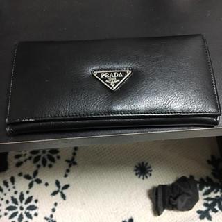 プラダ(PRADA)の黒 長財布(長財布)