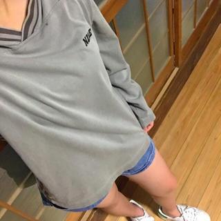 ナイキ(NIKE)の早い者勝ち‼️NIKE♡ロゴ刺繍ロンT(Tシャツ/カットソー(七分/長袖))