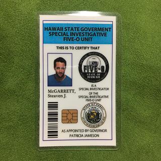 Hawaii five-0 ID風カード