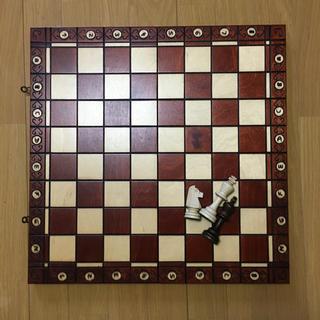 チェス  木製 アンティーク ボード ゲーム