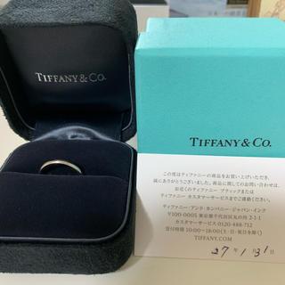 ティファニー(Tiffany & Co.)のティファニー クラシック バンドリング Pt950(リング(指輪))