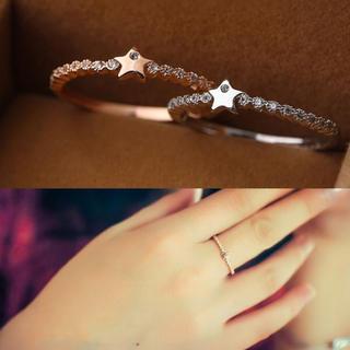 星 モチーフ リング(リング(指輪))