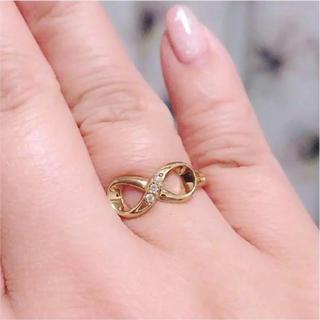 新品 K18YG ダイヤモンドリング 14号(リング(指輪))