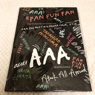 トリプルエー(AAA)のAAA FAN FUN FAN ツアーパンフレット(ミュージシャン)