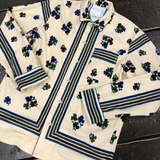 サカイ(sacai)のsacai フローラルシャツ(シャツ/ブラウス(長袖/七分))