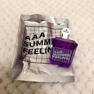 トリプルエー(AAA)のAAA SUMMER GOODS 2018 リングライト 紫(ミュージシャン)