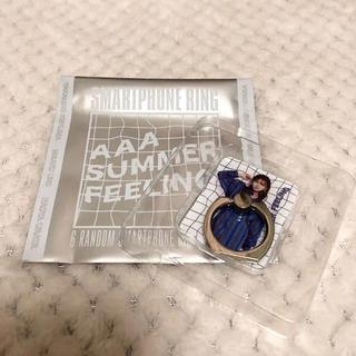 トリプルエー(AAA)のAAA SUMMER GOODS 2018 スマホリング 紫(ミュージシャン)