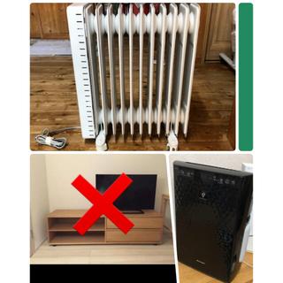 【即売り・値下げ不可】無印良品セット・空気清浄機