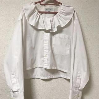 クリスチャンディオール(Christian Dior)のクリスチャンディオール ブラウス(シャツ/ブラウス(長袖/七分))