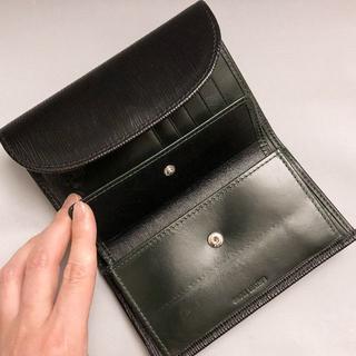 ホワイトハウスコックス(WHITEHOUSE COX)のWhitehouse Cox 3つ折り財布 OXFORD BRIDLE BK(折り財布)