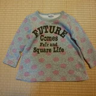 トイザラス(トイザらス)の裏起毛 スウェット チュニック 95(Tシャツ/カットソー)