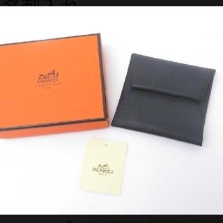 エルメス(Hermes)の未使用★エルメス バスティア コインケース □I カードケース エプソン 黒(コインケース/小銭入れ)