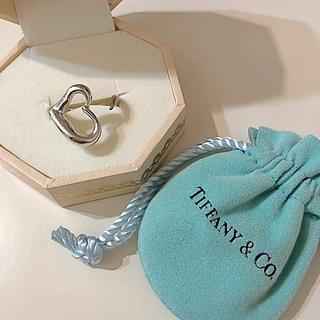 ティファニー(Tiffany & Co.)のティファニー オープンハートリング 10号(リング(指輪))