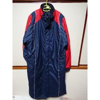 ナイキ(NIKE)の良品!ナイキ NIKE 防寒 ベンチコート 中綿 L コート ロング ジャケット(ウェア)