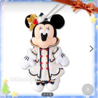 ディズニー(Disney)のディズニーシークリスマスぬいばミニー(キャラクターグッズ)