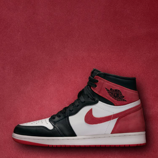 ナイキ(NIKE)のAIR JORDAN1 RETRO HIGH OG 26.5cm RED(スニーカー)