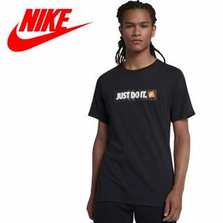 ナイキ(NIKE)のNIKE Just Do It. hbr tee Tシャツ Lサイズ ブラック(Tシャツ/カットソー(半袖/袖なし))