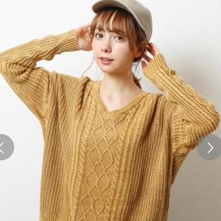 レイカズン(RayCassin)の美品♡Raycassin ピグメント ニット(ニット/セーター)