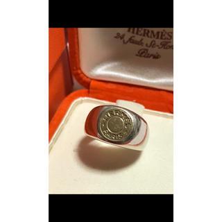 エルメス(Hermes)のHERMES  vintage  serie  ring  18k(リング(指輪))