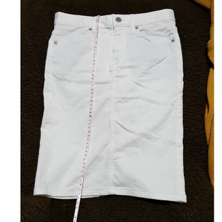 ジーユー(GU)のGUタイトスカートxs(ひざ丈スカート)