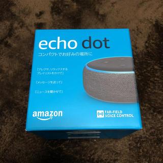 echo dot 第3世代 エコードット アレクサ(スピーカー)