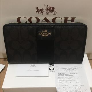 コーチ(COACH)のcoach長財布52859 正規品 新品 即日発送(財布)