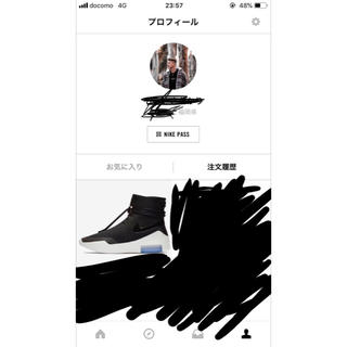 ナイキ(NIKE)のNIKE AIR SHOOT AROUND(スニーカー)