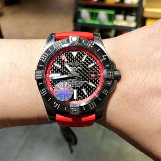 超美品 ブライトリング BREITLING 自動巻時計 高級時計 (ラバーベルト)