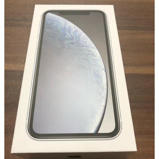 iphoneXR 64GB ホワイト【新品未使用】