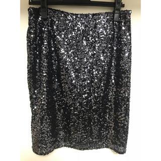 カルバンクライン(Calvin Klein)のカルバンクライン Calvin Klein スパンコールスカート(ミニスカート)