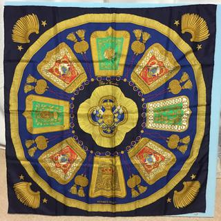 エルメス(Hermes)のHERMES エルメス カレ90 大判スカーフ サーベル飾袋(バンダナ/スカーフ)