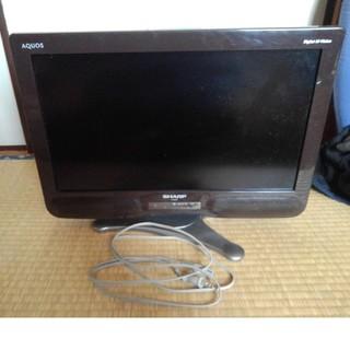 シャープ AQUOS LC-20NE7 20インチ液晶テレビ ブラウン