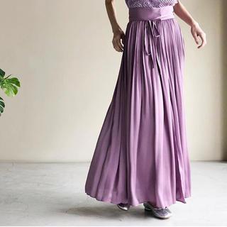 mame kurogouchi 17ss ロングプリーツスカート