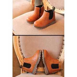 【キャメル】ブーツ★靴★シューズ★子供靴❤︎ マーチン靴風