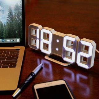 オシャレ♪ LED  3D デジタル時計★★★(置時計)
