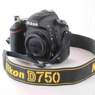 Nikon - ★新品級・未使用に近い nikon d750 ボディ