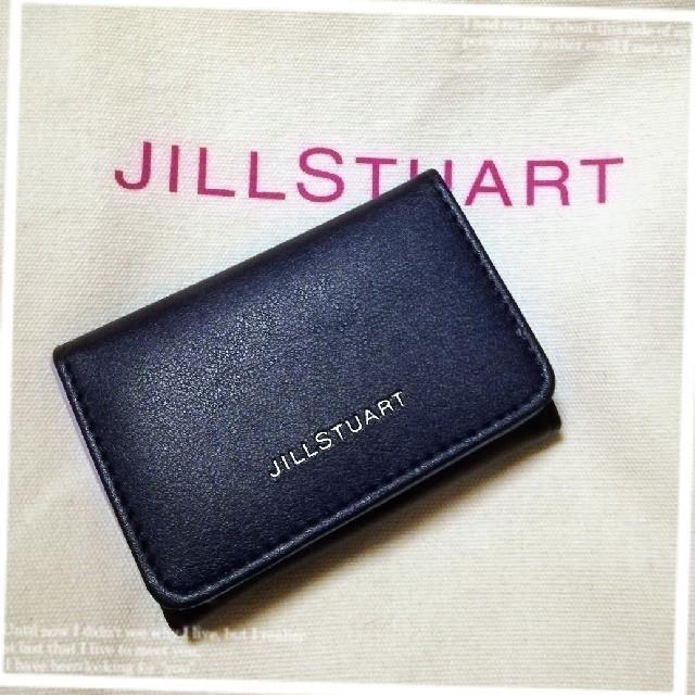 JILLSTUART(ジルスチュアート)のJILLSTUART❀ミニ財布 ネイビー レディースのファッション小物(コインケース)の商品写真