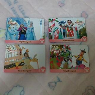 ディズニー(Disney)のディズニーランド クリスマス コレクションカード(カード)