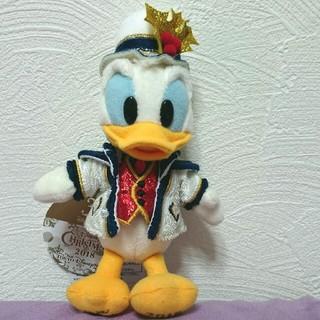 ディズニー(Disney)のディズニーシー★クリスマス★2018★ドナルド★ぬいぐるみバッジ(キャラクターグッズ)