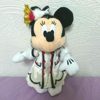 ディズニー(Disney)のディズニーシー★クリスマス★ミニー★ぬいぐるみバッジ④(キャラクターグッズ)